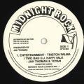 Triston Palmer, Jah Thomas, Toyan - Entertainment; Two Bad DJ Hafi Talk (Midnight Rock US-Re (33rpm))