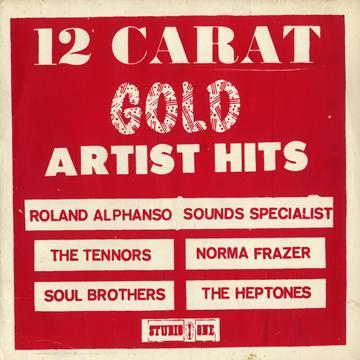 Various - 12 Carat Gold (Studio One (Silk Screen))