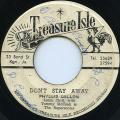 Phyllis Dillon - Don't Stay Away (Treasure Isle)