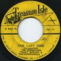 Sensations - Last Time (Treasure Isle)