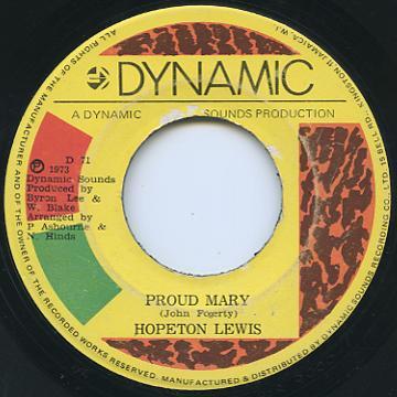 Hopeton Lewis - Proud Mary (Dynamic)