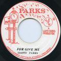 Lloyd Parks - Forgive Me (Parks)