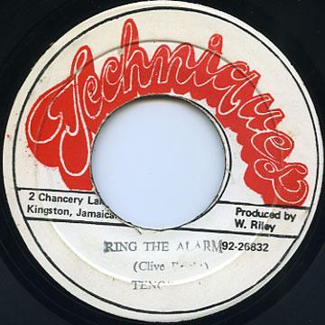 Ring The Alarm Tenor Saw Vinyl