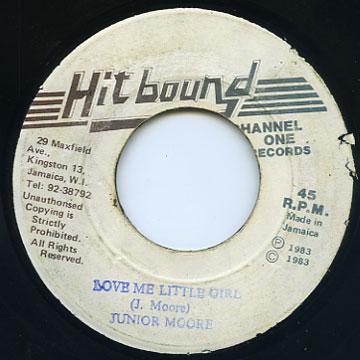 Junior Moore - Love Me Little Girl (Hit Bound)