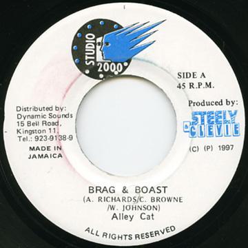 Alley Cat - Brag & Boast (Studio 2000)
