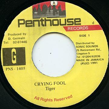 Tiger - Crying Fool