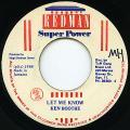 Ken Boothe - Let Me Know (Redman)