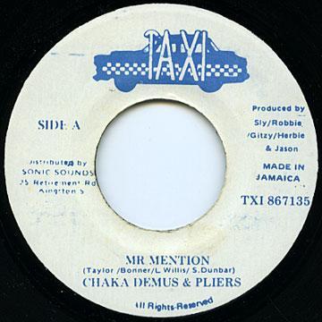 Chaka Demus, Pliers - Mr Mention (Taxi)