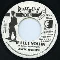 Jack Radics - If I Let You In (Raggedy Joe US)