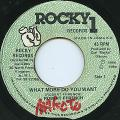 Robert Ffrench - What More Do You Want (Rocky 1)