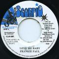 Frankie Paul - Love Me Baby (Black Scorpio)