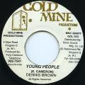Dennis Brown - Young People (Gold Mine)