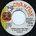 Thriller U - I Don't Have The Time (Champion)