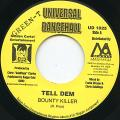 Bounty Killer - Tell Dem (Universal Dancehall)