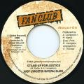 Natural Black, Andy Livingston - Stand Up For Justice (Fan Club)