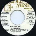 Dennis Brown, Peter Metro - Role Model (Gold Mine)