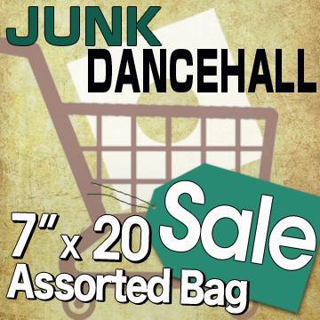 "Bargain Sale Pack 7"" - Junk Dancehall Assorted 7""x 20 / ジャンク品のダンスホールを中心としたバーゲンパック20枚セット (Bargain Sale Pack)"