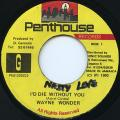 Wayne Wonder - I'd Die Without You (Penthouse)