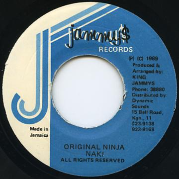 Nahki - Original Ninja (Jammys)