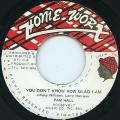 Pam Hall - You Don't Know How Glad I Am (Home Worx)