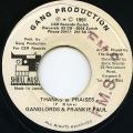 Ganglords, Frankie Paul - Thanks & Praises (Gang Production)