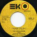 Jamaicans, Dickie Rankin - Things You Say (EKO)