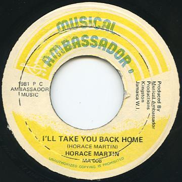 Horace Martin - I'll Take You Back Home (Musical Ambassador)