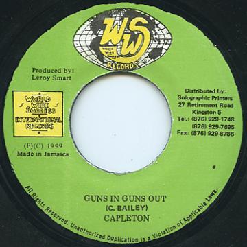 ReggaeCollector com - Capleton - Guns In Guns Out (WWS)