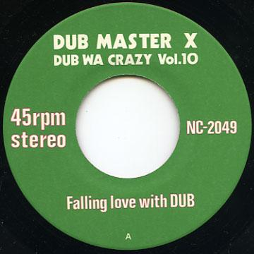 Dub Master X - Falling Love With Dub (Nutmeg JPN)