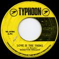 Winston Wright - Love Is The Thing (Typhoon)