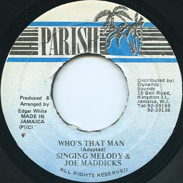 レゲエコレクター com singing melody joe maddicks who 039 s
