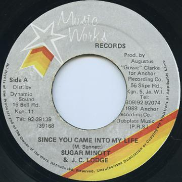 Sugar Minott, JC Lodge - Since You Came Into My Life (Music Works)