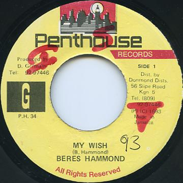 Beres Hammond - My Wish (Penthouse)