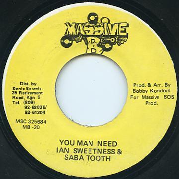 Ian Sweetness, Saba Tooth - You Man Need (Massive B)