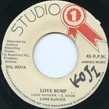 Lone Ranger - Love Bump (Studio One)