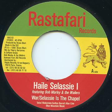 Haile Selassie I, Bob Marley - War/Selassie Is The Chapel (Rastafari EU)