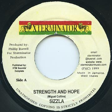 Sizzla - Strength And Hope (Xterminator)