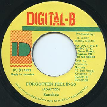 Sanchez - Forgotten Feelings (Digital B)
