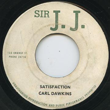 Carl Dawkins - Satisfaction (Sir JJ)