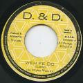 Mighty Wackies - Weh Fe Do (D & D)