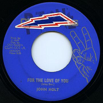 John Holt - For The Love Of You (Clintones US)
