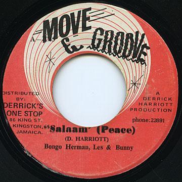 Bongo Herman, Les, Bunny - Salaam Peace (Move & Groove)