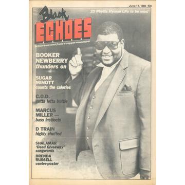 Magazine - Black Echoes (June 11, 1983) (Black Echoes)