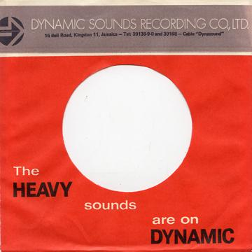 Sleeve - Original 70's Dynamic Sounds Sleeves Pack Of 10 (Dynamic)