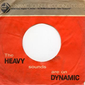Sleeve - Original Used 70's Dynamic Sounds Sleeves Pack Of 10 (Dynamic)