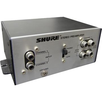 Phono Equalizer (フォノイコライザー) - Shure M64A Stereo Phono Preamplifier (Shure)