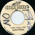 Delroy Wilson - Give Love A Try (Coxsone)