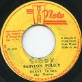 Brent Dowe - Babylon Policy (High Note)