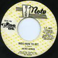 Jackie Brown - Miss Hard To Get (High Note US)