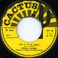 Cynthia Richards - Keep It In The Family (Cactus UK)